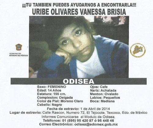 Odisea El Tejocote, Texcoco