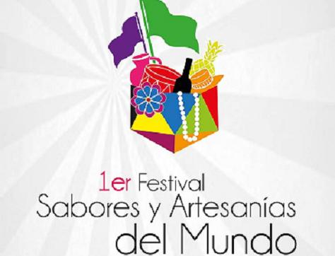 FESTIVAL SABORES Y ARTESANIAS DEL MUNDO- FLYER-