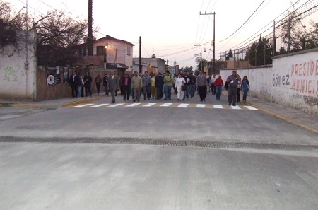 Reencarpetado calle Allende Texcoco