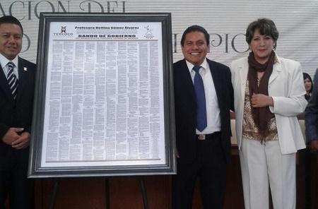 Bando de gobierno Texcoco 2015