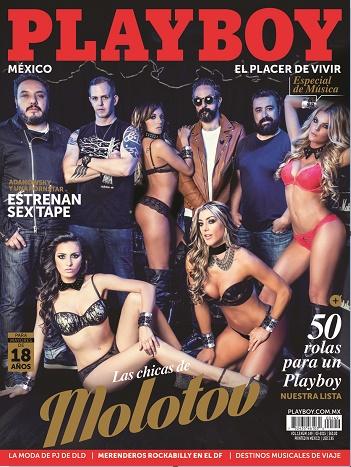 molotov en playboy de marzo