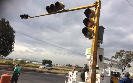 semaforos cuautlalpan