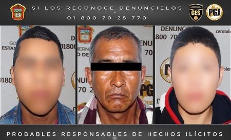 secuestradores chalco