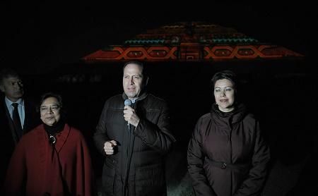 En abril del 2016 se inaugurar espect culo de luz y Espectaculo de luz y sonido en teotihuacan