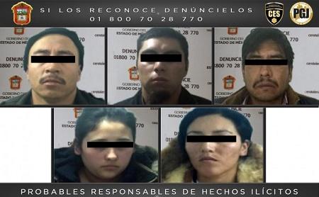 secuestradores edomex