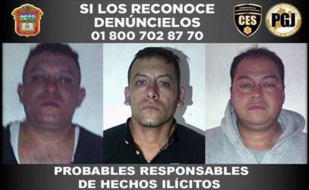 Detenidos Ixtapaluca