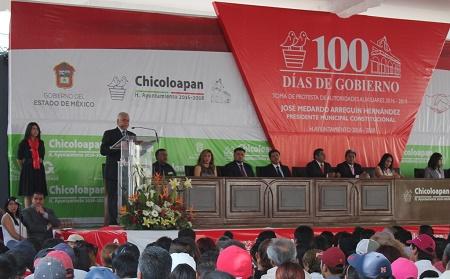 100 dias chicoloapan