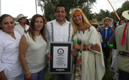 Record Guinness Teotihuacan 1