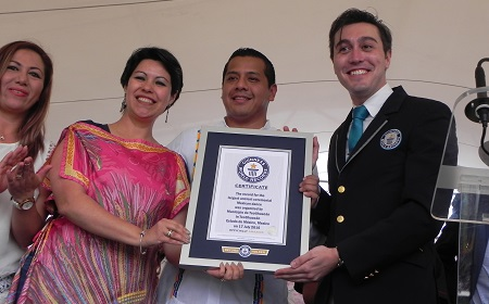 Record Guinness Teotihuacan 2